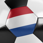 The Netherlands Soccer Ball — Stock Photo