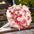 Wedding bouquet with roses — Stock Photo #12287936