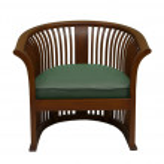 Classic armchair — Stock Photo
