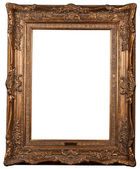 Classical carved frame — 图库照片