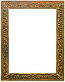 Beautiful antique carved frame — Stock Photo