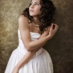Beautiful dreamy princess — Stock Photo
