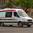 Stockfoto: Ambulance car