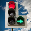 Traffic light — Stock Photo #3318171
