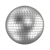 Disco ball - 3d render on white — Stock Photo