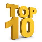 Top ten — Stock Photo