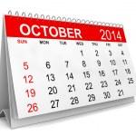 2014 Calendar — Stock Photo #35963205