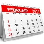 2014 Calendar — Stock Photo #35963215