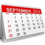 2014 Calendar — Stock Photo #35963239