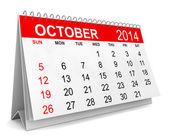2014 Calendar — Stock Photo