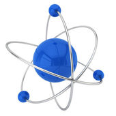 Model of atom — Stock Photo