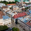 View of Lviv, Ukarine. — Stock Photo