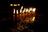 Flame of candles. — Foto de Stock