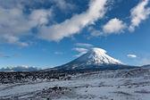 Kluchevskaya volcano in Kamchatka region, Russia. — Stock Photo