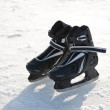 Ice-skates. - Stock Photo