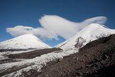 вулкан ключевская в камчатской области, россия. — Стоковое фото