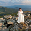 Bride in mountains. — Stock Photo #18370551