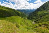 Paesaggio di montagna magica. — Foto Stock