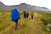 Gruppo di escursionisti. — Foto Stock