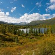Stock Photo: Wild landscape in Ural Mountains.