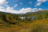 Wild landscape in Ural Mountains. — Stock Photo