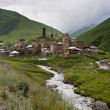 Old city Ushguli. — Stock Photo #37696449