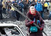 Revolution in Ukraine. — Stock Photo