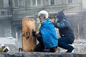 Revolution in der ukraine. — Stockfoto