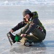 Stockfoto: Girl with skates.
