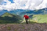 Happy hiker. — Stock Photo