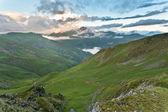 Bergslandskap. — Stockfoto