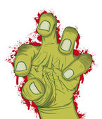 Hand of zombie — Stock Vector