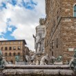Fountain Of Neptune, Florence, Italy - Stock Photo