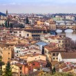 River Arno And Florence - Stock Photo