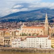Basilica Santa Croce, Florence — Stock Photo