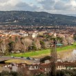 Arno River And San Niccol�� Bridge - Panoramic — Stock Photo
