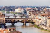 View Of Ponte Vecchio, Florence — Stock Photo