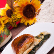 Stock Photo: Italian Chard In Puff Pastry