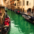 gondols in venice — Stockfoto #21450735