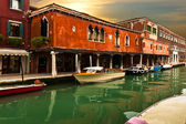 Vibrant Colors In Murano At Sunset — Stock Photo