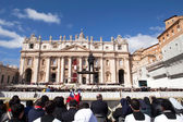 Pope Francis Inauguration Ceremony — Stock Photo