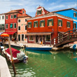 Lovely, Colorful View Of Burano — Stock Photo