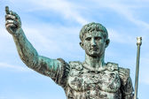 Statue Of Augustus Caesar, Rome, Italy — Stock Photo