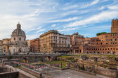 Rome, Imperial Forums — Stock Photo