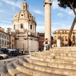 Piazza Venezia, Rome, Italy — Stock Photo