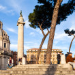 Resting In Piazza Venezia — Stock Photo
