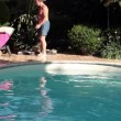 Cool MJumping In Pool — Stock Video #27499449