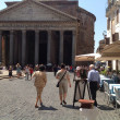 Stock Photo: The Pantheon In Rome Italy