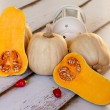 Still Life With Butternut Squash — Stock Photo
