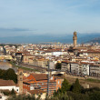 View Above Florence — Stock Photo